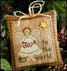 Another Little House needlework ornament
