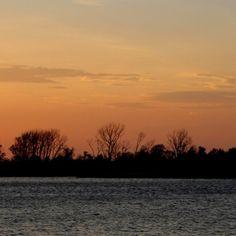 Tiny Island Sunset