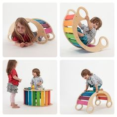 Rainbow Rocker-- they don't ship to the U.S. so DIY it is.