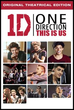 One Direction: This Is Us Movie Poster - Niall Horan, Zayn Malik, Liam Payne  #OneDirection, #ThisIsUs, #MoviePoster, #Documentary, #MorganSpurlock, #LiamPayne, #NiallHoran, #ZaynMalik