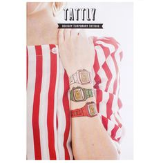 Late @Tattly watch set tattoos! http://www.maison24.com/lifes-un-necessities/