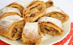 20-minútový jablkový závin – vynikajúci: Zaručene nepraskne a chutí ako čerstvo upečený aj na tretí deň! Sweet Cookies, Strudel, Apple Pie, Cornbread, Pancakes, Food And Drink, Baking, Breakfast, Ethnic Recipes