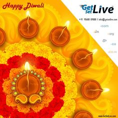 This #diwali light & bright your business online. Get domain name and hosting with GetSetLive