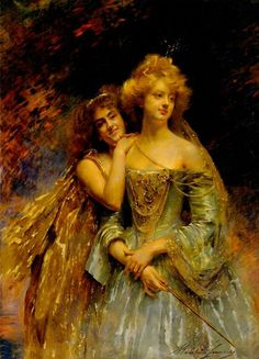 The Athenaeum - Fairies (Madeleine Jeanne Lemaire - No dates listed)