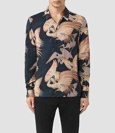 Mens Wader Shirt (Dark Ink) - product_image_alt_text_1