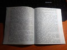 Лайфхак: «Рукописный» конспект, распечатанный на принтере