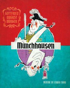 Eugen Taru - Munchhausen Printed Materials, Book Illustration, My Dad, Paper Dolls, Childhood Memories, Card Games, Illustrators, Memes, Books