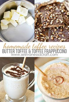 You'll love what you can create with coffee creamer! From homemade butter toffee to toffee frappuccino, you'll find fantastic dessert recipes. These are treats your family will love.