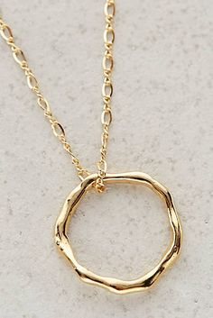 Annulus Pendant Necklace