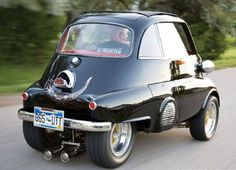 1957 BMW Isetta 300 with a 1989 fj1200 Yamaha motorcycle motor
