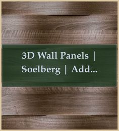 3D Wall Panels | Soelberg | Add depth and dimension to your walls | How To Make Textured Wall Panels | How To Make Textured Wall Panels | Wall Paneling Ideas Bedroom | Wall Paneling Ideas Bedroom. #drawing #walls Textured Wall Panels, 3d Wall Panels, Wood Panel Walls, Wood Wall, Woodworking Drill Press, Woodworking Joints, Easy Woodworking Projects, Woodworking Plans, Paneling Makeover