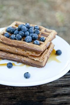 The Gracious Pantry Original Home-Style, Clean Eating Waffles