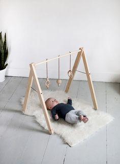 """fazer o Baby Gym e já deixá-lo preparado para encaixar """"degraus"""" e transformar num Pinkler!"""