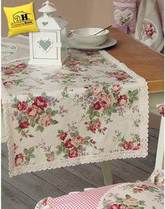 Runner cerato Angelica Home & Country Collezione Rose Vittoriane