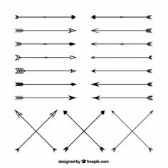 flechas cruzadas tatuagem - Pesquisa Google                                                                                                                                                                                 Más