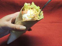 Ta-Cones (Taco Cones): 5 Steps (with Pictures) Taco Bowls, Flour Tortillas, Taco Tuesday, Nachos, Enchiladas, Ground Beef, Guacamole, Cabbage, Dinner
