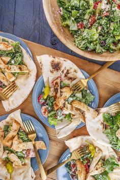 Rachael's Go-Greek Grilled Chicken Salad with Creamy Dressing
