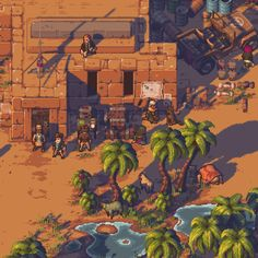 Pathway's release is just around the corner! While there's no date yet, the development is in its final moments and the game's publisher Chucklefish (Wargroove, Stardew Valley) released a 2d Rpg, 3d Pixel, Pix Art, Anime Pixel Art, Pixel Art Games, Sprites, Video Game Art, 8 Bit, Texture Art