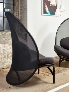 Mesh easy chair CHIPS by TON