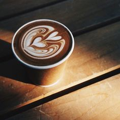 Coffee is good for your heart. It's also good for your soul. #latteart