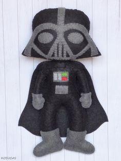 Dark Vader de fieltro.