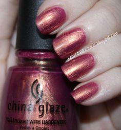 china glaze awakening swatch - Google Search