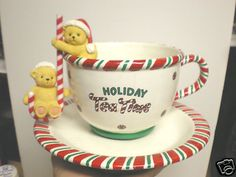 Mr Christmas 1998 Holiday Tea Time Spinning Musical Tea Cup in Box | eBay
