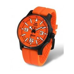 Vostok-Europe Expedition North Pole Automatic Watch with Brilliant Orange Dial 5954197 Casual Watches, Cool Watches, Watches For Men, Limited Edition Watches, Europe, Watch Companies, Popular Mens Fashion, North Pole, Automatic Watch