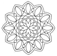 De mandala is een tekening binnen een afgebakende ruimte en betekent magische cirkel.Het middelpuntsymboliseert eenheid, rust, volmaaktheid enbevat alles in …