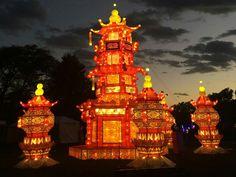 Boerner Botanical Gardens Month Of October China Lights Wisconsin Pinterest Wisconsin