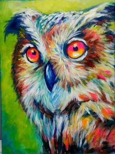 """Receive terrific pointers on """"modern abstract art painting"""". They are actually available for you on our web site. Owl Canvas, Canvas Ideas, Art Original, Animal Paintings, Art Paintings, Acrylic Paintings, Watercolor Artists, Wildlife Art, Abstract Art"""