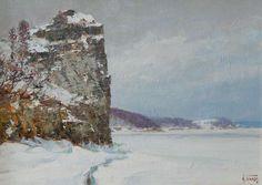 Panov Igor. Lone cliff