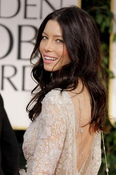 Jessica Biel, chocolate auburn hair tones