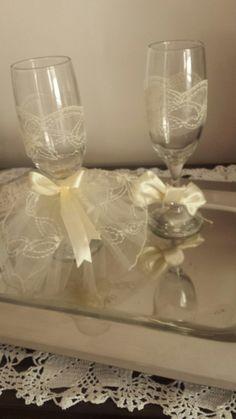 Ποτηρια γαμπρου και νυφης