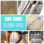 Everyone loves the feel of a sparkling home, but the cleaning itself is a means to an end! These cleaning hacks will get you there with minimal effort and pain!