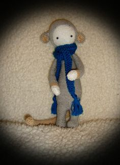 RADA the rat made by LuLu P. / crochet pattern by lalylala