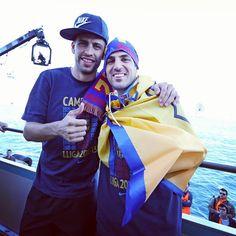 Gerard Piqué & Cesc Fàbregas