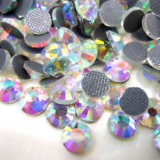 SS16 Clear 1440pcs DMC Quality Iron-on Hotfix Crystal Rhinestones