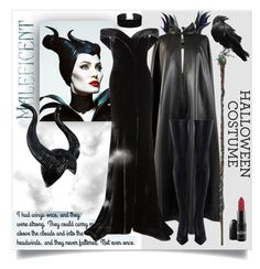 """Maleficent"" by lisait ❤ liked on Polyvore featuring Grès, Rachel Gilbert, Zimmermann, Villain and Miss Selfridge"