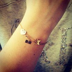 Our gold bracelet