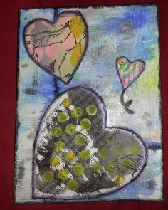 Mix media postcard. Handmade with watercolors. #handmade #hechoamano #hechoenasturias #diy #diycasero #scrapbokingcasero #scrapbooking #snailmail #crafts #mixmedia #mixmediaart #reciclado #recycled #Asturias