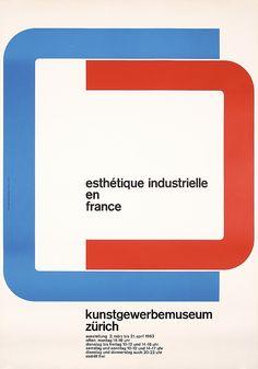 Graf, Carl Bernhard 1926 - 1968. esthetique industrielle en france. Offset 1963…