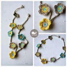Resultado de imagem para Free Crochet Necklace Patterns