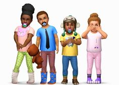 My Sims 3 Blog: Toddler Accessories by Yosimsima