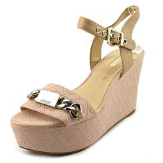 Guess Dalila Women's Two-Piece Platform Sandal *** Discover this special outdoor gear, click the image - Platform sandals