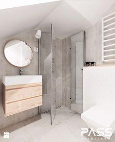 Aranżacje wnętrz - Łazienka: projekt 14 - Łazienka, styl minimalistyczny - PASS architekci. Przeglądaj, dodawaj i zapisuj najlepsze zdjęcia, pomysły i inspiracje designerskie. W bazie mamy już prawie milion fotografii!