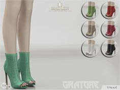 Madlen Gratore Shoes by MJ95 at TSR via Sims 4 Updates  Check more at http://sims4updates.net/shoes/madlen-gratore-shoes-by-mj95-at-tsr/