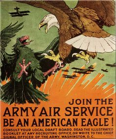 Army Air Service poster, 1918 | Flickr - Photo Sharing!