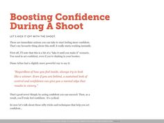 The Shy Photographer's Guide to Confidence