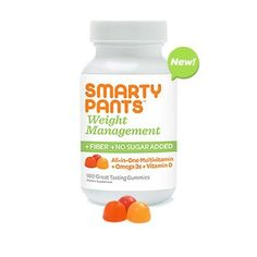 Delicious, fiber-filled, massively-omega Smartypants Gummy Vitamins are my family favorite!!